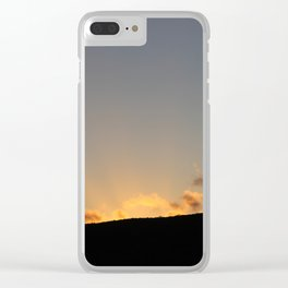 Sunset over Lord Howe Island Clear iPhone Case