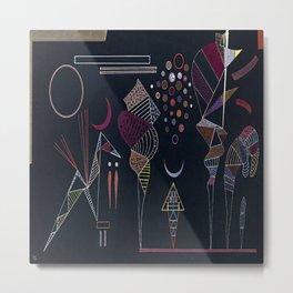 Wassily Kandinsky Reduced Contrast Metal Print