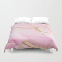 Pastel Pink Orchid Flower Branch #decor #society6 #homedecor Duvet Cover