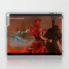 Keyleth will remember this Laptop & iPad Skin