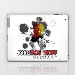 Jorg Rosskopf | Table Tennis Legend Laptop & iPad Skin