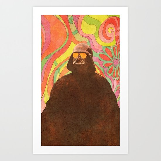 The Groovy Side Art Print