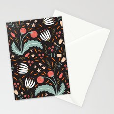 Floral Fusion Stationery Cards