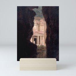 El Khasne, The Treasury Ruins of Petra by Frederic Edwin Church Mini Art Print