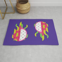 Fruit: Dragon Fruit Rug