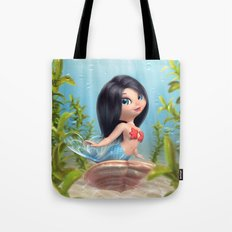 Cute Mermaid Tote Bag