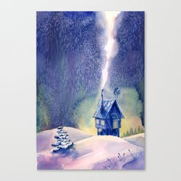 New Year's Eve Canvas Print