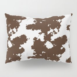 Realistic cow hide pattern Pillow Sham