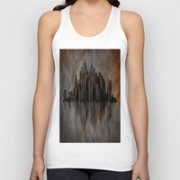 metropolis Tank Tops featuring Metropolis by Robin Curtiss