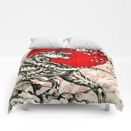 Japan Tiger Comforters