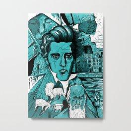 Kierkegaard Metal Print
