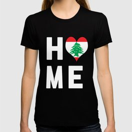 Lebanon Is My Home T Shirt T-shirt