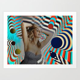 Another Girl, Another Planet Art Print