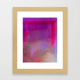 Neon District 2 Framed Art Print