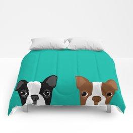 Boston Terriers Comforters