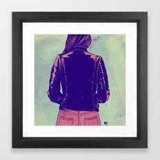 Tough Framed Art Print