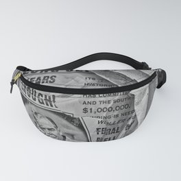Wanted affiche Fanny Pack