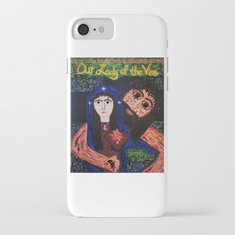 Our Lady of the Vine iPhone Case