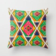 Try Tiles Throw Pillow