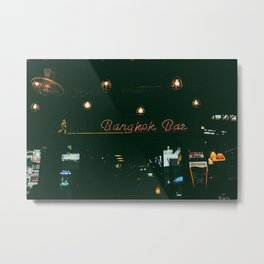 BANGKOK BAR Metal Print