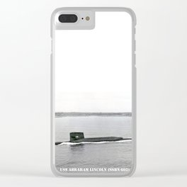 USS ABRAHAM LINCOLN (SSBN-602) Clear iPhone Case