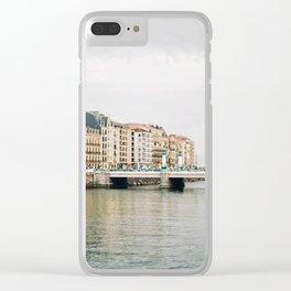 San Sebastian, Spain Clear iPhone Case