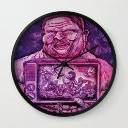 Kickin' it Old School Print Wall Clock