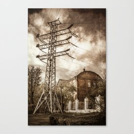 Old Powerstation Canvas Print