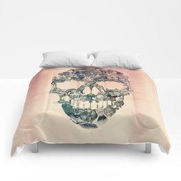 Skull Vintage Comforters