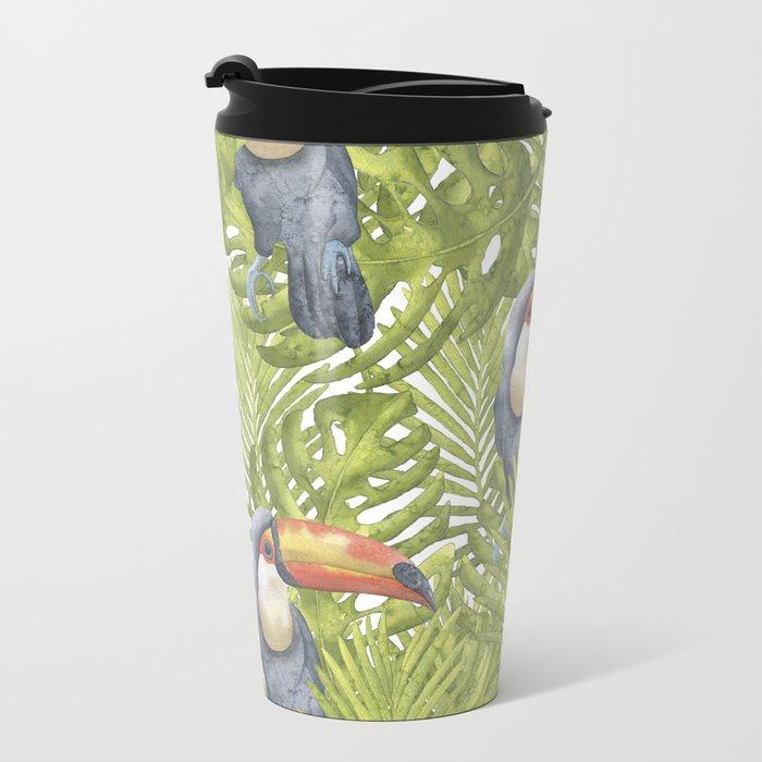 Toucan Metal Travel Mug