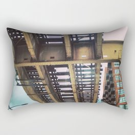 Under the Tracks Rectangular Pillow