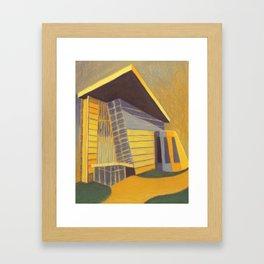 Building 3 Framed Art Print