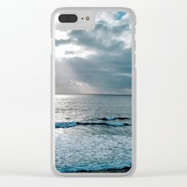 Ocean View Morning Clear iPhone Case