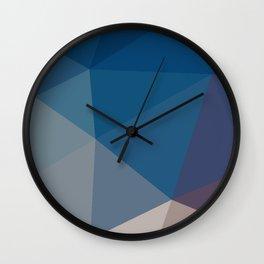 Polygon art 05 Wall Clock