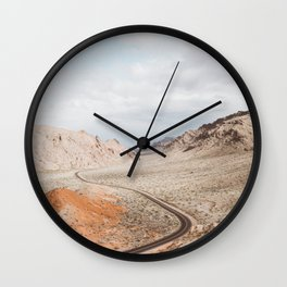 Valley of Fire | Pt. 1 Wall Clock