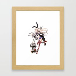 Kantai Collection - Shimakaze Framed Art Print