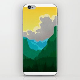 Wilkinson Mountain Pass iPhone Skin