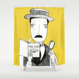 Sherlock Jr. Shower Curtain