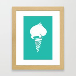 Gelati 2 Framed Art Print