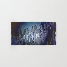 Walls in the Night - UFOs in the Sky Hand & Bath Towel