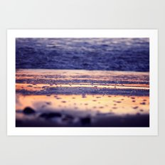 Reflections of a Sunset Art Print