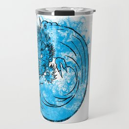 Dragon Waves Travel Mug