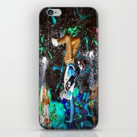 skateboard iPhone & iPod Skins featuring skateboard street by  Agostino Lo Coco