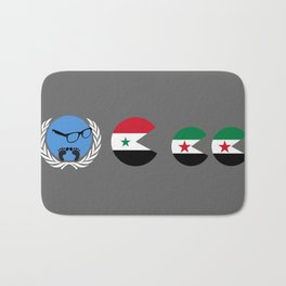 United Nations is watching Syria Bath Mat