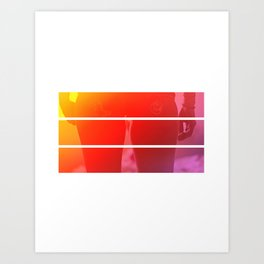 miami nights Art Print