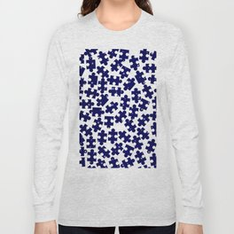 Random Jigsaw Pieces Long Sleeve T-shirt