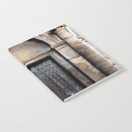 Edinburgh Mercat Cross Door Notebook