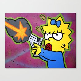 Don't Mess With Baby Canvas Print