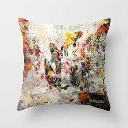鯉隠さ (Hidden Koi) Throw Pillow