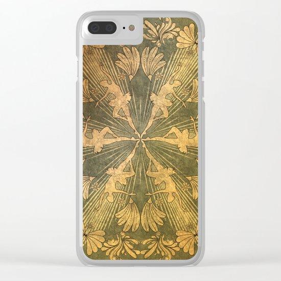 Wonderful mandala of ballerina Clear iPhone Case